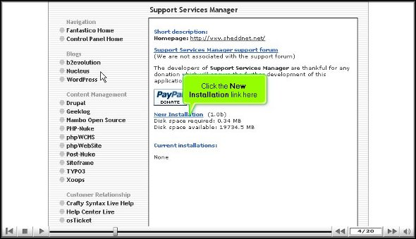 support service manager