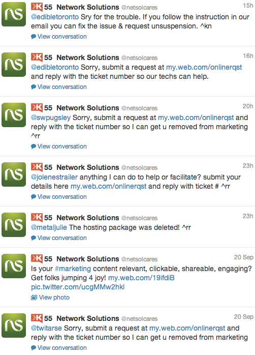 web-hosting-support-on-twitter-networksolutions