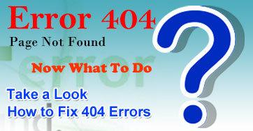 How to Fix 404 Errors