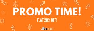 BigRock Flat 28% off